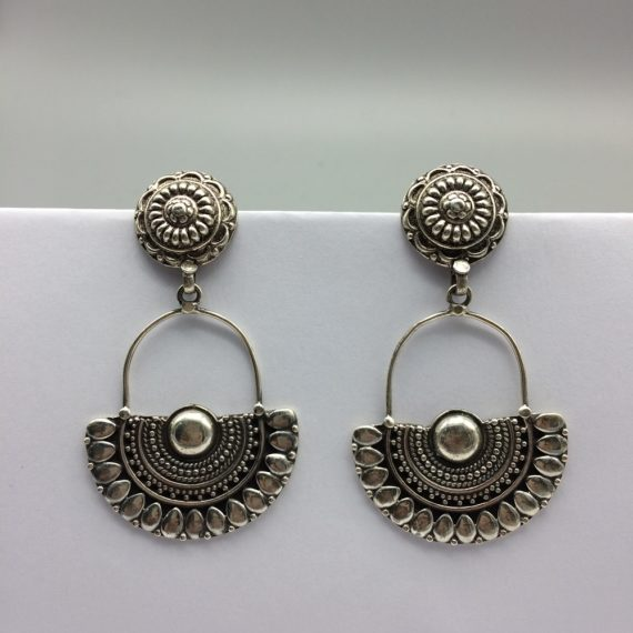 Moon Flower Temple earrings