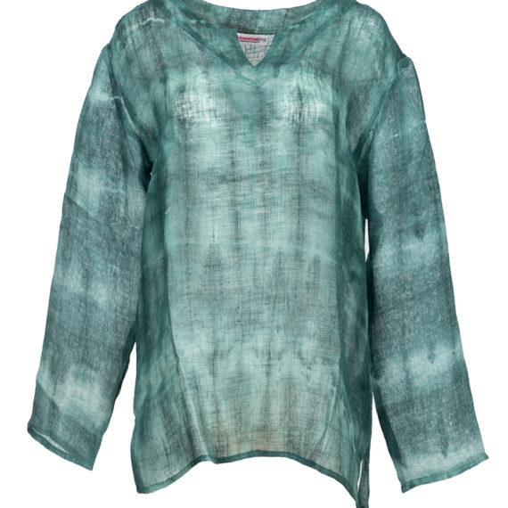 Linen Shirt Green