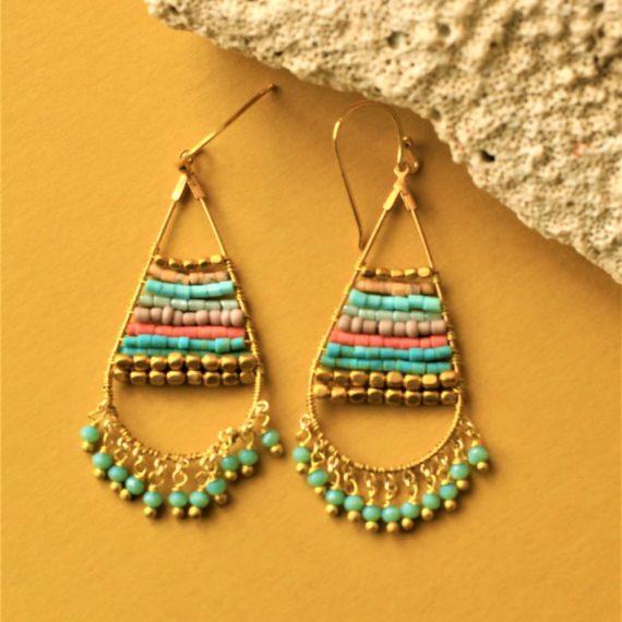 1355 Bead earrings 02