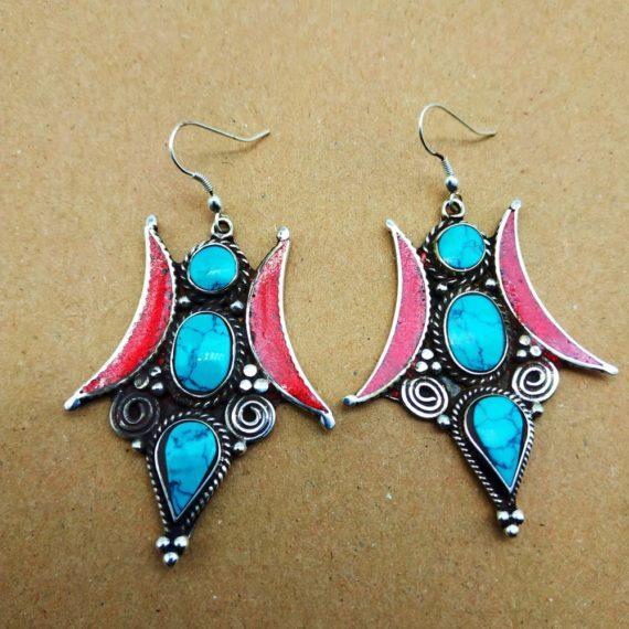 1220 Large Nepali earrings 02