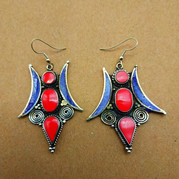 1220 Large Nepali earrings 01