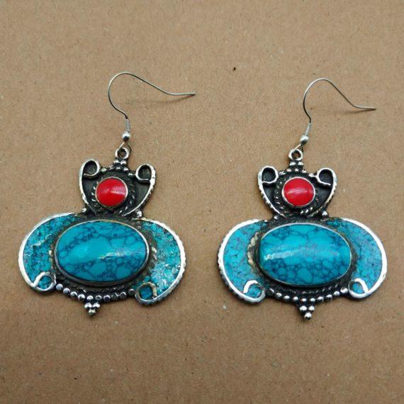 1220 Large Nepali earrings 03