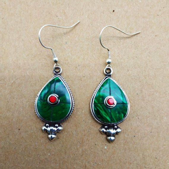 1221 Small Nepali earrings 26